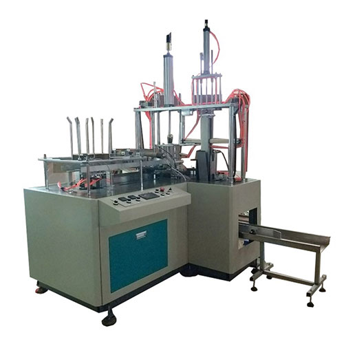 JHZ-CHL Full automatic disposable fast food paper box forming machine